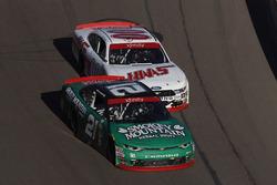 Daniel Hemric, Richard Childress Racing ChevroletCole Custer, Stewart-Haas Racing Ford