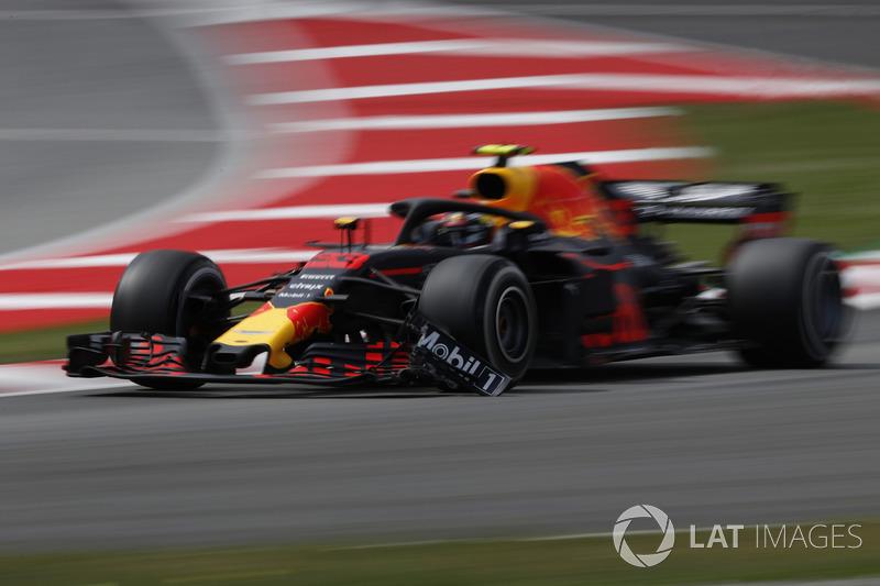 Verstappen maakte contact met een Williams tijdens de VSC