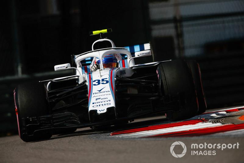 13: Сергій Сироткін, Williams FW41, 1'35.612