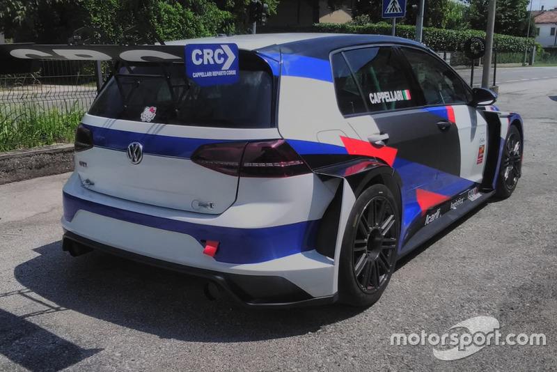La Volkswagen Golf GTI TCR di Daniele Cappellari