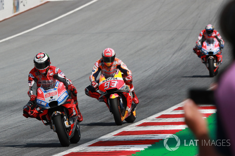 Jorge Lorenzo, Ducati Team, Marc Marquez, Repsol Honda Team