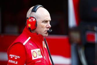 Jock Clear, Engineering Director, Ferrari