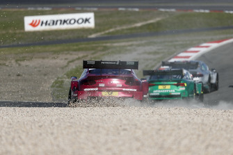 Edoardo Mortara, Mercedes-AMG Team HWA, Mercedes-AMG C63 DTM in the gravel