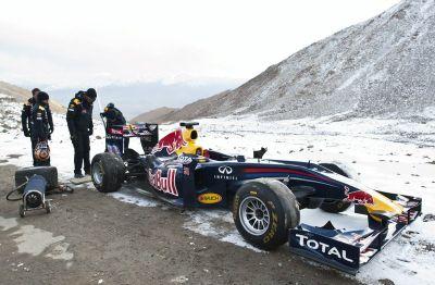 Show de Red Bull en Khardunga La
