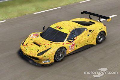 JMW Motorsport livery onthulling