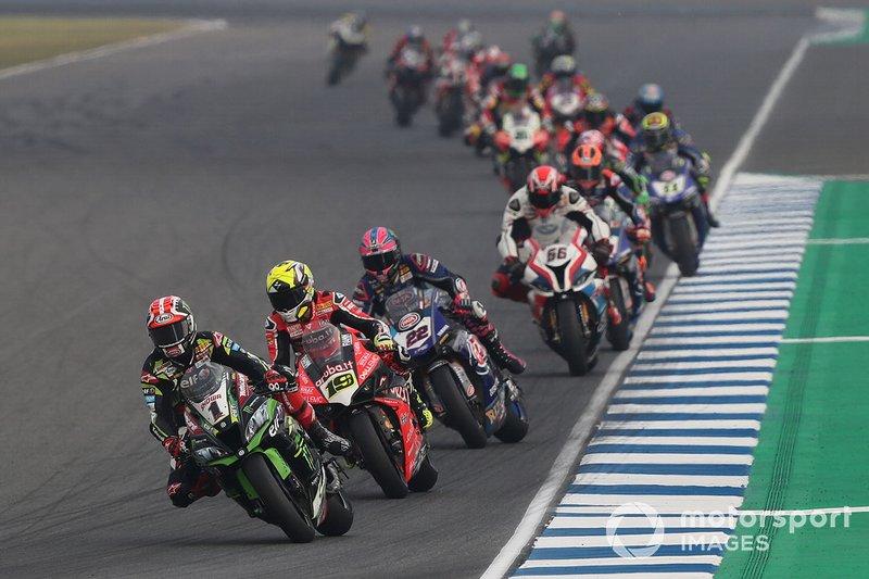 Jonathan Rea, Kawasaki Racing, Alvaro Bautista, Aruba.it Racing-Ducati SBK Team