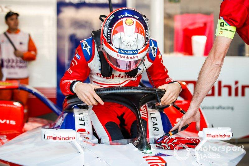 Jérôme d'Ambrosio, Mahindra Racing, sale sulla M5 Electro