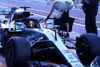 Lewis Hamilton, Mercedes AMG F1 technical detail