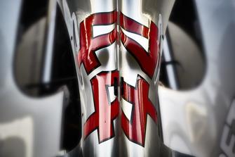 Detail of Lewis Hamilton's Mercedes AMG F1 W09 EQ Power+