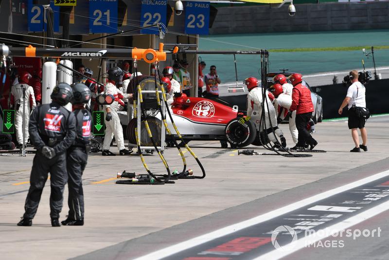 Marcus Ericsson, Sauber C37 abandonne