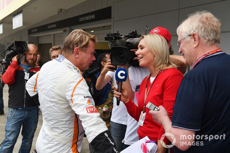 Мика Хаккинен, Legends F1 30th Anniversary Lap Demonstration
