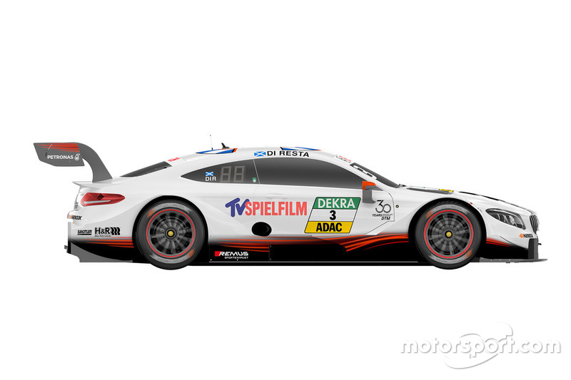Decoración coches Mercedes DTM 2018