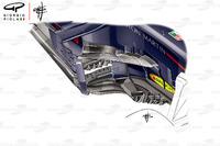 Pontones del Red Bull RB14 en el GP de España