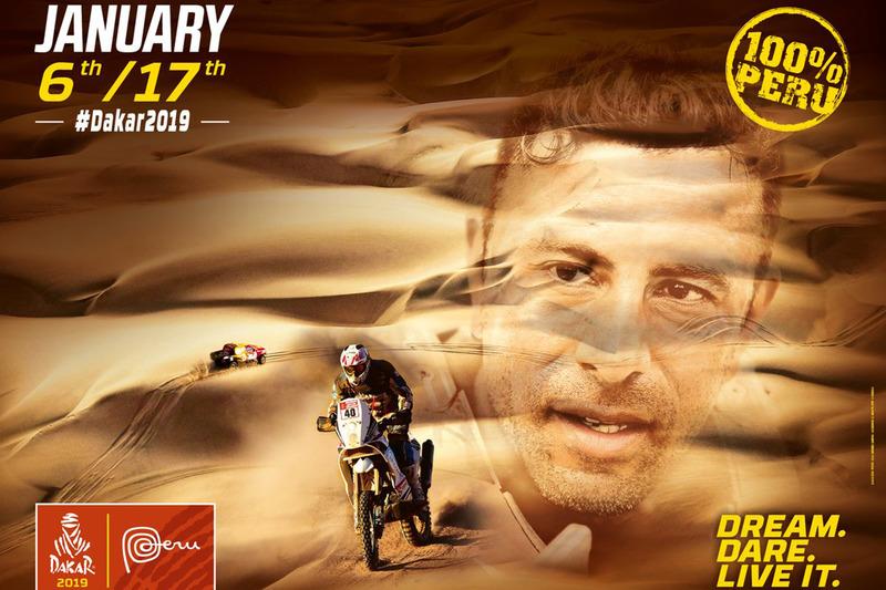 Poster del Dakar 2019