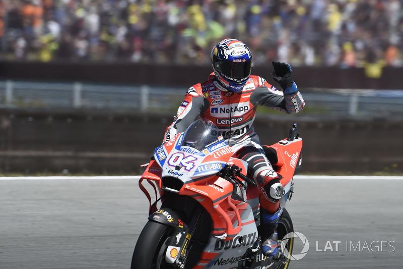 Podium : Andrea Dovizioso, Ducati Team