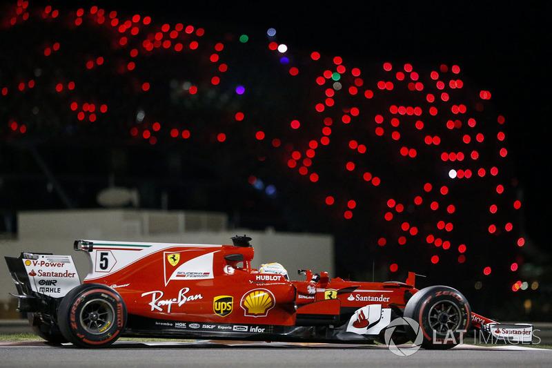 3. Sebastian Vettel, Ferrari SF70H