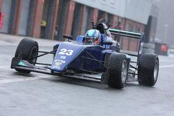 Billy Monger makes his single seater racing car comeback by testing a Carlin run MSV Formula 3 car