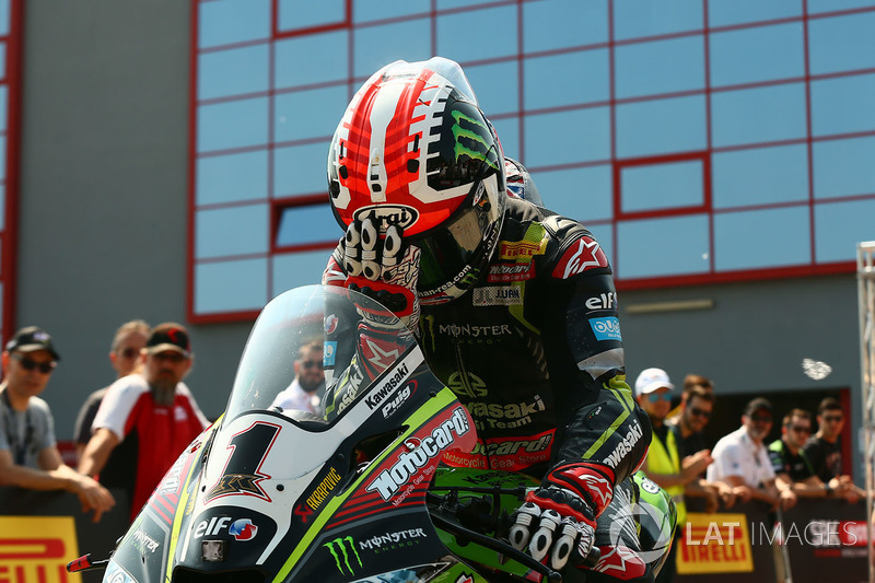 Il poleman Jonathan Rea, Kawasaki Racing
