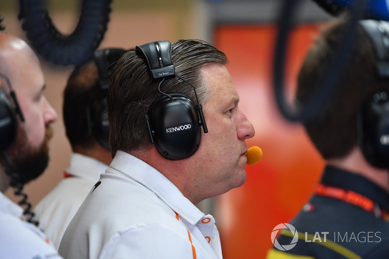 Zak Brown, CEO McLaren Racing