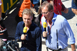 Nico Rosberg, ambassadeur de Mercedes-Benz, sur la grille