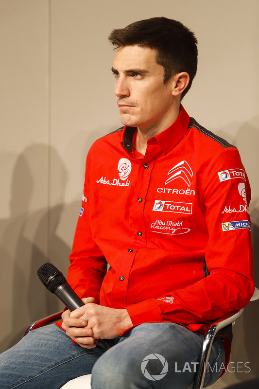 KCraig Breen of Citroen talks to Henry Hope-Frost on the Autosport Stage