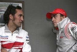 Franck Montagny, Toyota, Fernando Alonso, McLaren