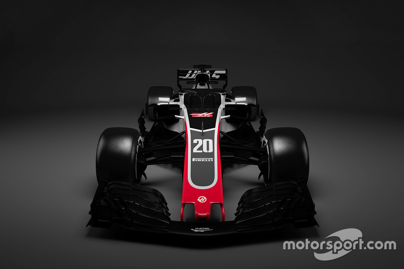 Decoración del Haas F1 Team 2018