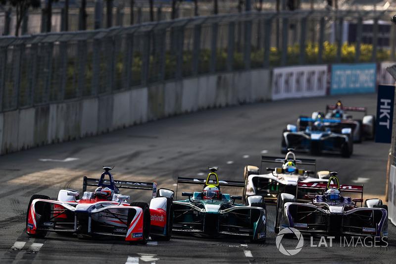 Felix Rosenqvist, Mahindra Racing, Oliver Turvey, NIO Formula E Team, Sam Bird, DS Virgin Racing