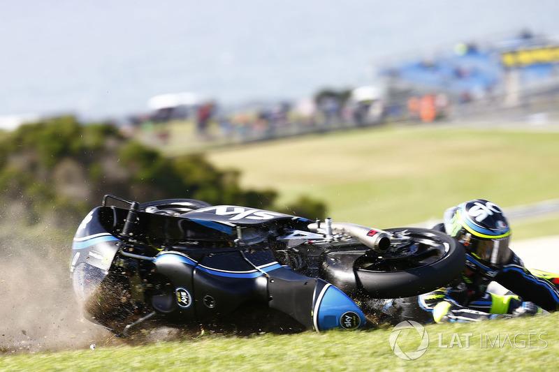 Choque de Nicolo Bulega, Sky Racing Team VR46