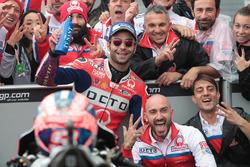 Il terzo classificato Danilo Petrucci, Pramac Racing
