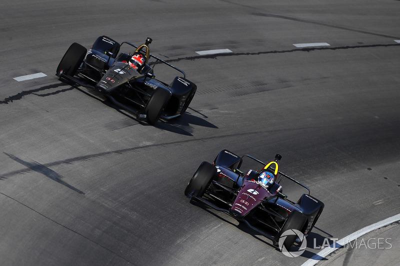 Robert Wickens, Schmidt Peterson Motorsports Honda, James Hinchcliffe, Schmidt Peterson Motorsports Honda