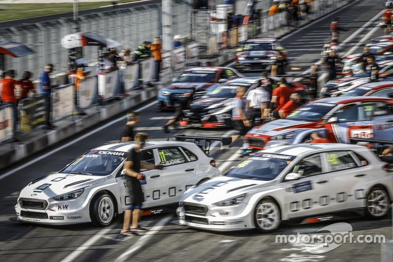 Thed Björk, YMR Hyundai i30 N TCR, Yvan Muller, YMR Hyundai i30 N TCR