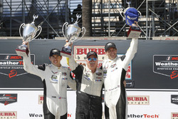 GTLM podium: winners Oliver Gavin, Tommy Milner, Corvette Racing