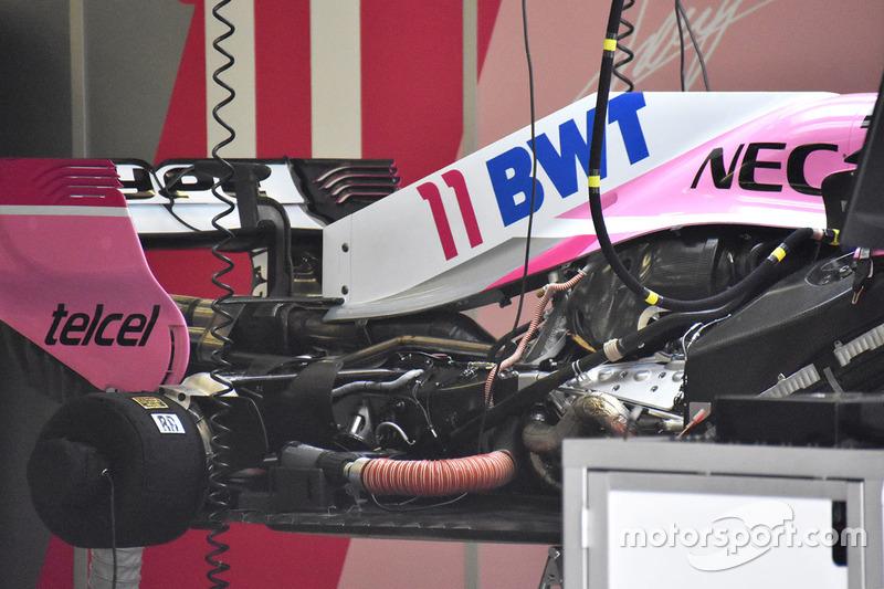 Force India VJM11 engine detail