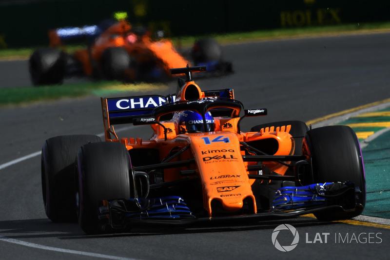 5e : Fernando Alonso (McLaren)