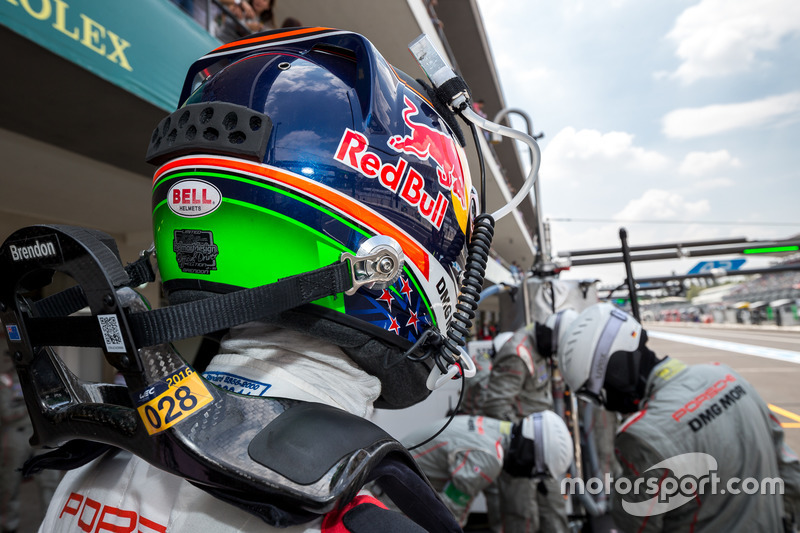 Porsche Team: Brendon Hartley