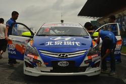 #3 Beijing Hyundai Racecar