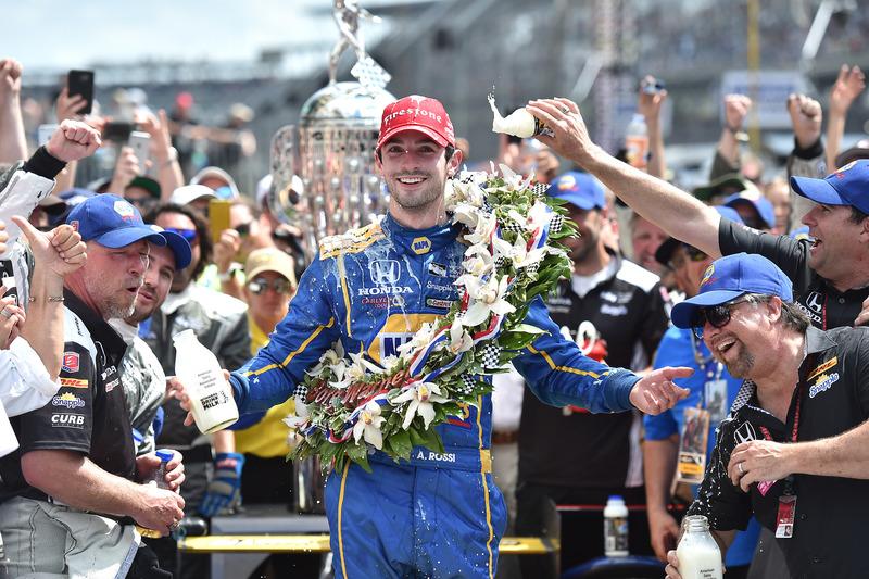 #2: Indy-500-Sieger Alexander Rossi (Herta/Andretti-Honda)