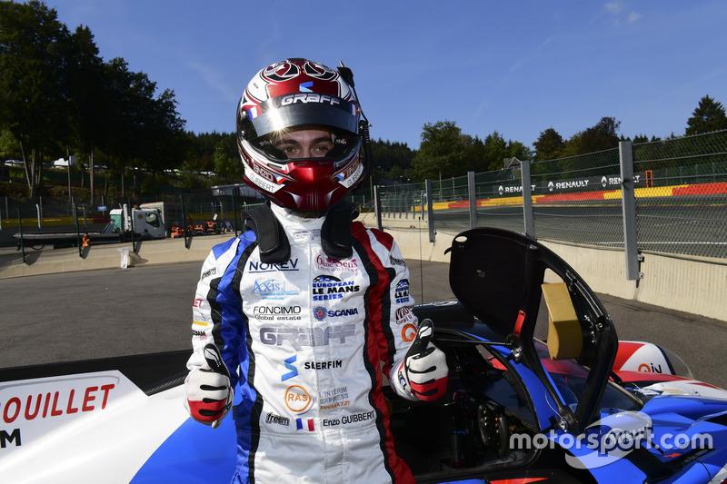LMP3-Polesitter: #9 Graff Racing, Ligier JS P3 - Nissan: Enzo Guibbert