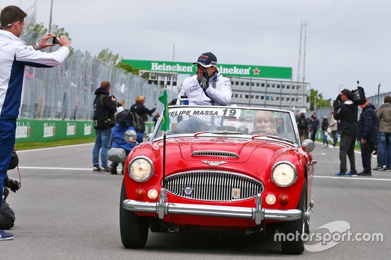 Феліпе Масса, Williams на параді пілотів