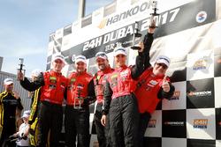 Christiaan Frankenhout, Roland Eggimann, Kenneth Heyer, Chantal Kroll, Michael Kroll, Mercedes-AMG GT3, P1 PRO-AM, Hofor Racing supported by Widberg Motorsport