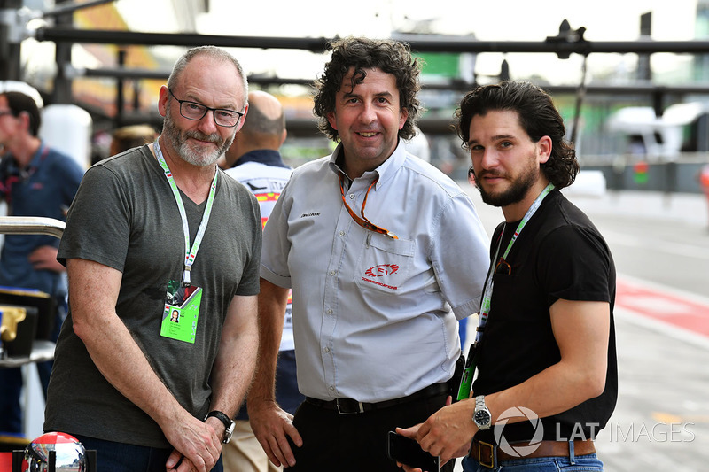Liam Cunningham, Actor and Kit Harington, Actor