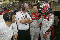 Loïc Duval, Dr. Wolfgang Ullrich, Lucas di Grassi, Oliver Jarvis, Audi Sport Team Joest