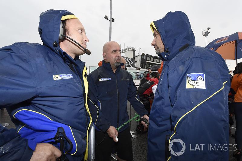 Michelin technicians