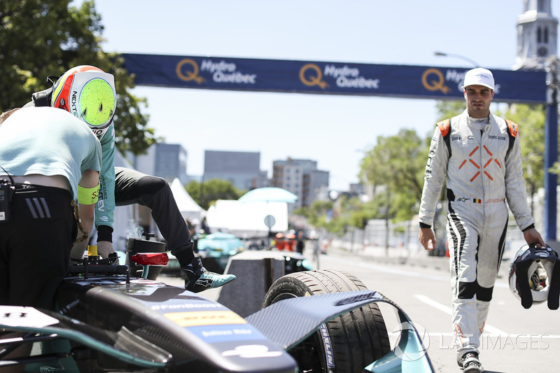 Oliver Turvey, NEXTEV TCR Formula E Team, y Jérôme d'Ambrosio, Dragon Racing