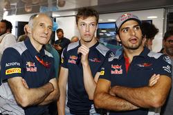 Franz Tost, Team Principal, Scuderia Toro Rosso, Daniil Kvyat, Scuderia Toro Rosso, Carlos Sainz Jr., Scuderia Toro Rosso
