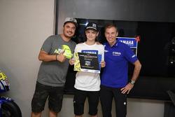 Lin Jarvis beim Yamaha VR46 Master Camp 2017