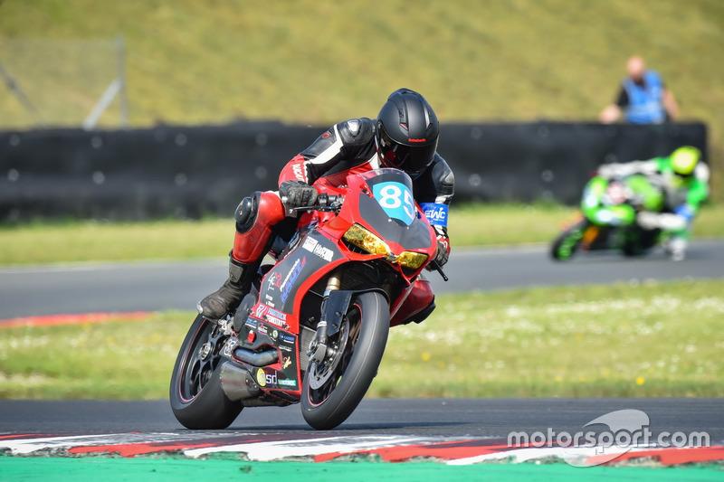 #85 Frostbeulen Racing, Ducati Panigale: Rainer B‰cker, Dierk Mester, Martin Mockenhaupt