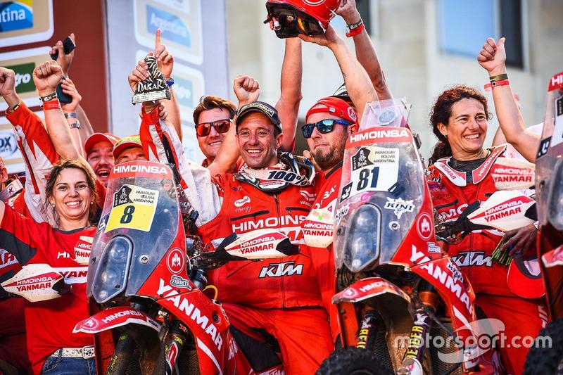 #8 Himoinsa Racing Team, KTM: Gerard Farrés, #81 Himoinsa Racing Team, KTM: Rosa Romero