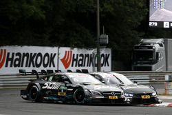 Robert Wickens, Mercedes-AMG Team HWA, Mercedes-AMG C63 DTM, Bruno Spengler, BMW Team RBM, BMW M4 DTM